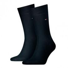 Tommy Hilfiger Men Sock Classic Navy 2-Pack