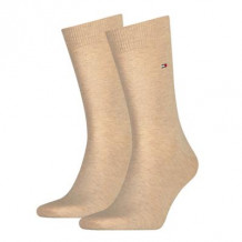 Tommy Hilfiger Men Sock Classic Light Beige Melange 2-Pack