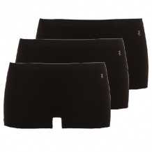 Ten Cate Women Basic Shorts 3-Pack Zwart
