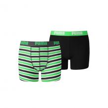 Puma Boxershorts Boys Classic Green/Black 2-pack