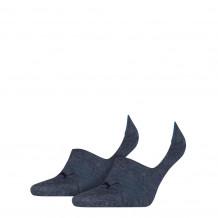 Puma Footie Unisex Denim Blue 2-pack