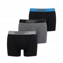 Puma Boxershorts Lifestyle Sueded Cotton Dark Grey Melange / Black