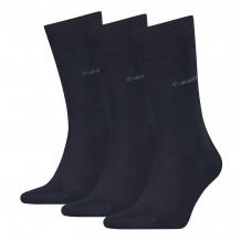 Calvin Klein sokken heren sock 3-pack navy