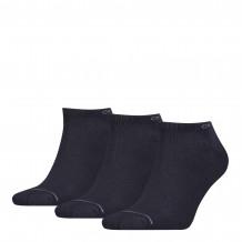 Calvin Klein sokken heren sneaker 3-pack navy