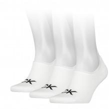Calvin Klein sokken heren footie high cut 3-pack
