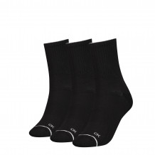 Calvin Klein sokken dames sock 3-pack zwart