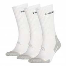 Head Crew Sock 3-pack White