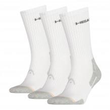 Head Crew Sock 3-pack White