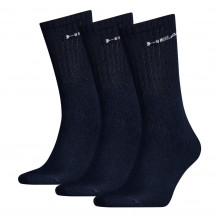 Head Short Crew Sock 3-pack Navy