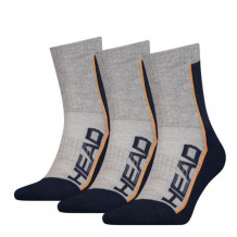 HEAD Performance Short Crew 3-pack Unisex Grey