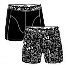 Muchachomalo Men 2- Pack Iconic Art Print/Black
