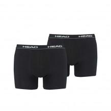HEAD boxershort black 2-pack