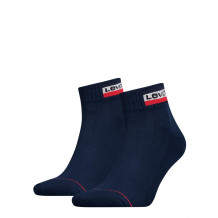 Levis Mid Cut Sprtwr Logo Dress Blues 2-Pack