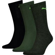 Puma Sport Sokken black/green 3-pack