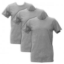 Apollo Heren T-shirts O-Neck 3-pack Light Grey