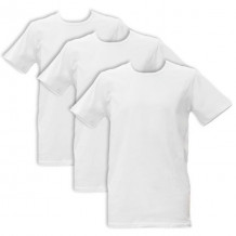 Apollo Heren T-shirts O-Neck 3-pack White