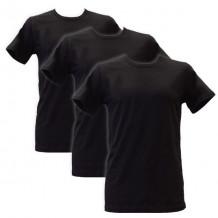 Apollo Heren T-shirts O-Neck 3-pack Black
