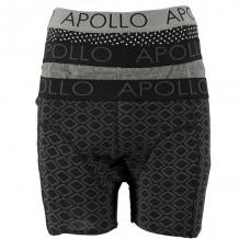 Apollo 3 pack Fasion Cotton Multi Black