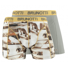 Brunotti Sebaso/Shawny Boys Underwear 2-pack Grijs