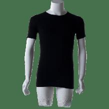 Cavello T-Shirts Ronde hals Zwart