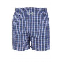 DEAL International boxershort Kartiert blauw