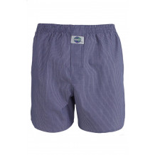 DEAL International boxershort Gestreept lichtblauw wit