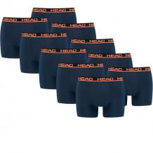 HEAD boxershort basic 10-pack blue / orange