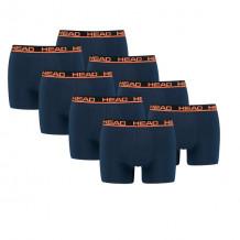 HEAD boxershort basic 8-pack blue / orange