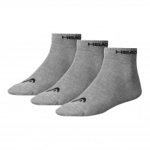 Head Quarter Sock Grey 3-pack