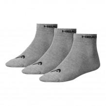 Head Quarter Sock Grey 3-pack