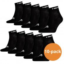 Head Quarter sokken 10-pack Zwart