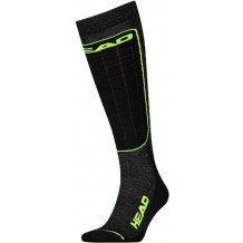 HEAD Ski Performance 2-pack Unisex neon yellow