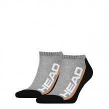 HEAD Stripe Sneaker 2-pack grey/black