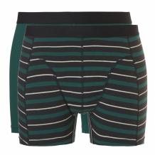 Ten Cate Boxershort Goodz Stripes & emerald