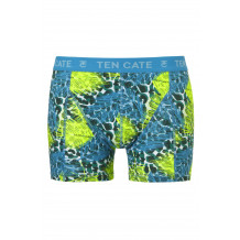 Ten Cate Men Printed Shorts 3224 Jungle Blue