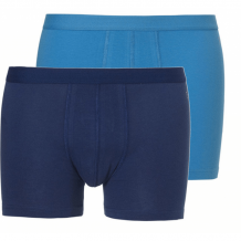 Ten Cate heren boxershorts 2-pack Blue/Light Blue