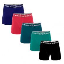 Muchachomalo Men 5-Pack Light Cotton solid