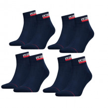 Levi's Sneaker Sokken 9-pack Batwing Logo Navy