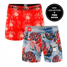 Muchachomalo Boxershorts Flower Power 2-pack