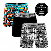 Muchachomalo Boxershorts Color Television 3-pack