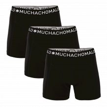 Muchachomalo Boxershorts Solid185 3 pack