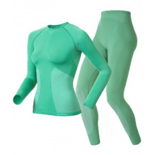 Odlo Thermoset Sports Underwear Evolution Warm Women Green