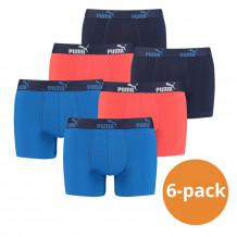 Puma Boxershorts Blue Red 6-pack