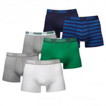Puma Boxershorts Verrassingspakket Combi/Stripe 6-pack