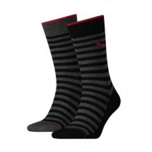 Puma 2-pack Classic Sock Men Black Stripe