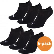 Puma sokken Sneaker zwart 6-pack