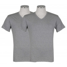 Puma 2-pack V-Neck T-shirt Grijs | T-shirts