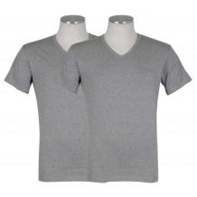 Puma 2-pack V-Neck T-shirt Grijs | T-shirts