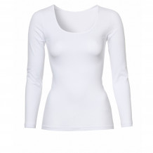 Ten Cate Basic Cotton Shirt Longsleeves Wit