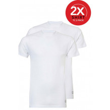 Ten Cate 2-Pack Basic T-shirts Ronde Hals Wit